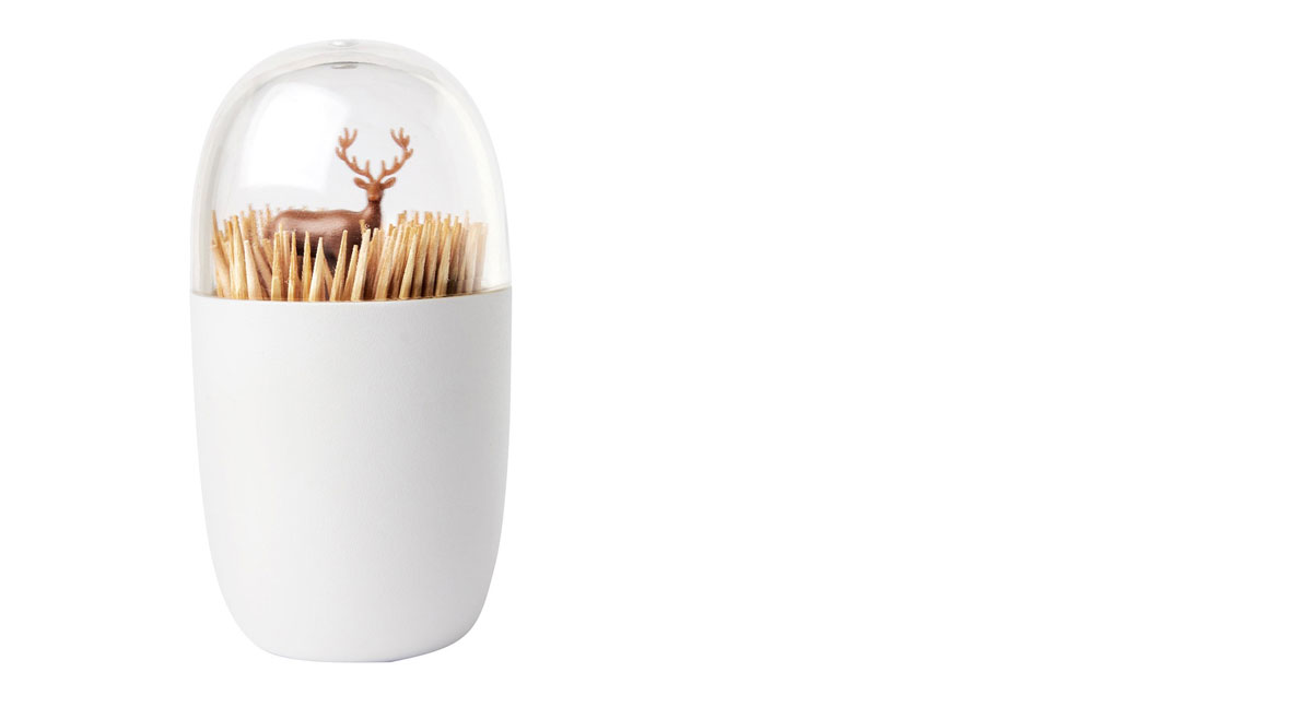 Quirky toothpick holder
