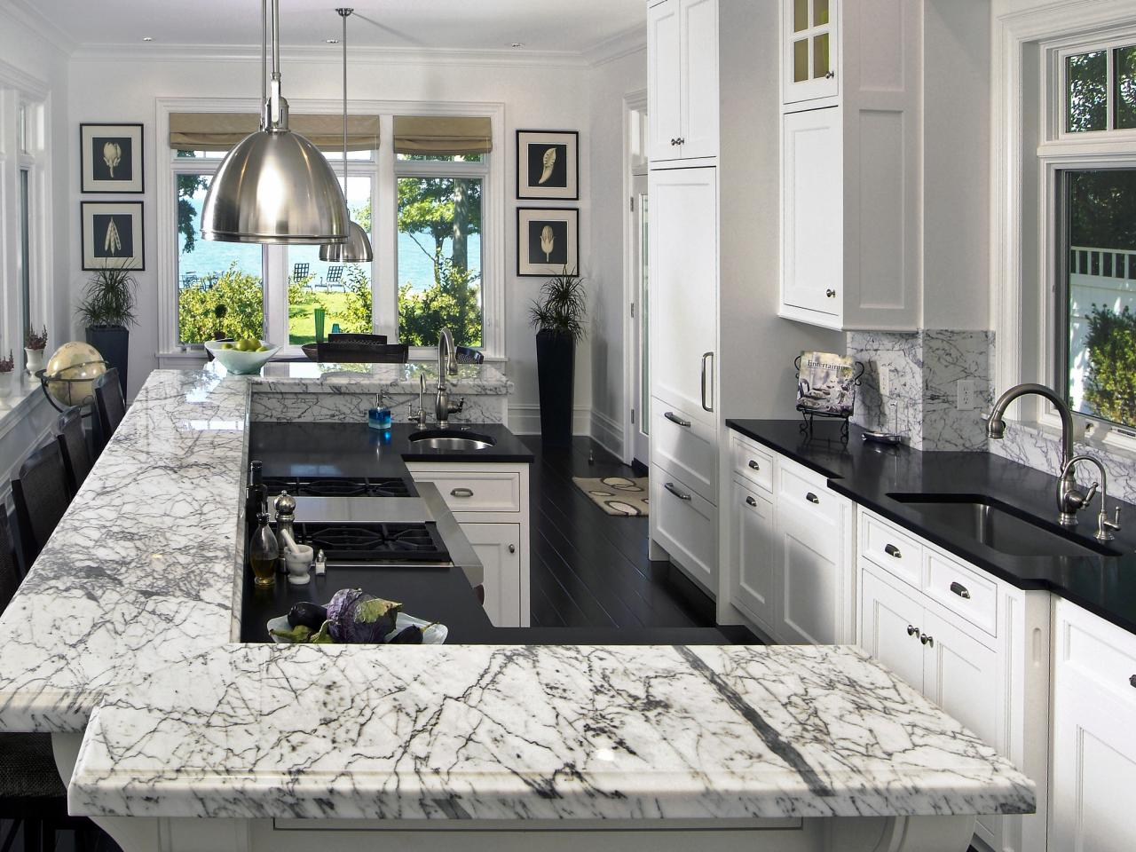 quartz granite or solid surface whats your perfect kitchen countertop surface countertop kitchen Image credit Marble Granite