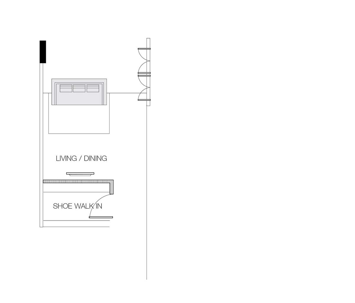 long and narrow living room layout