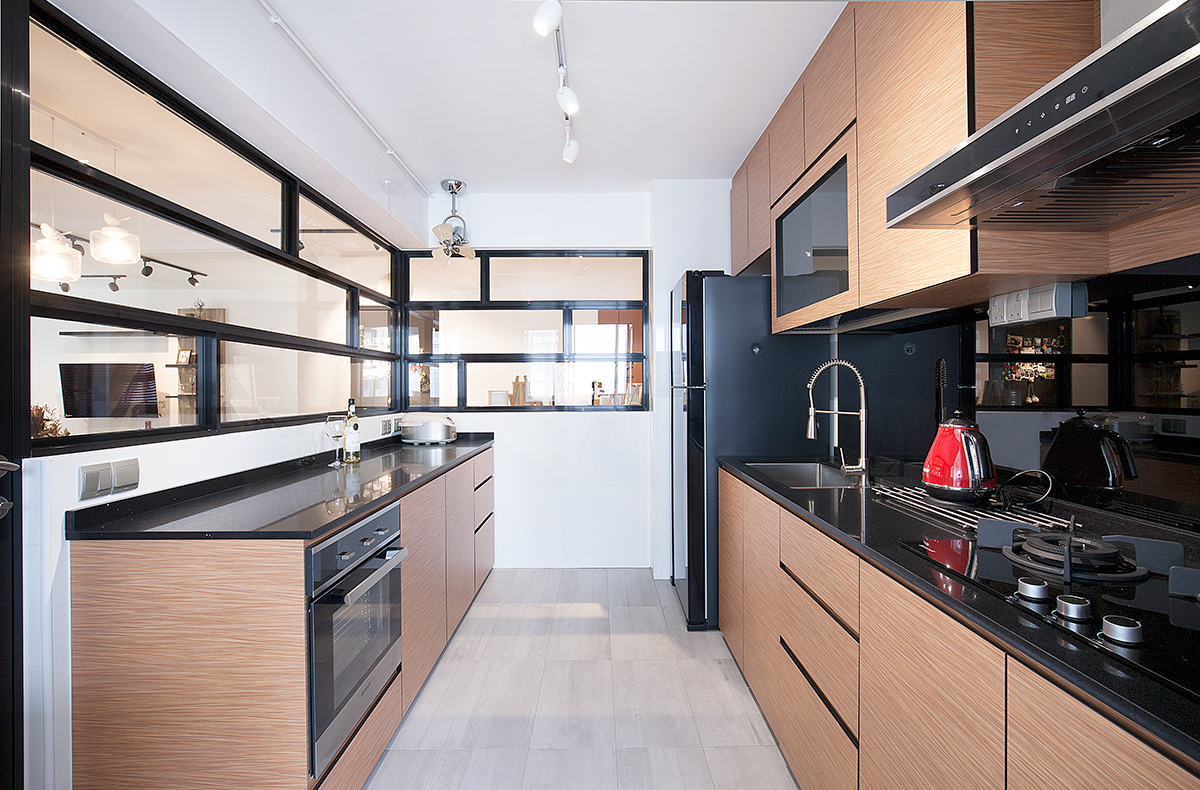 5 Contemporary Hdb Kitchens With Warmth And Style Squarerooms
