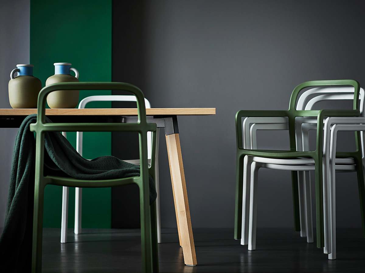 The YPPERLIG collection is combines HAY's contemporary-chic aesthetics with IKEA's timeless sensibilities.