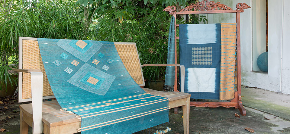 This Designer Creates Traditional Handcrafted Textiles With