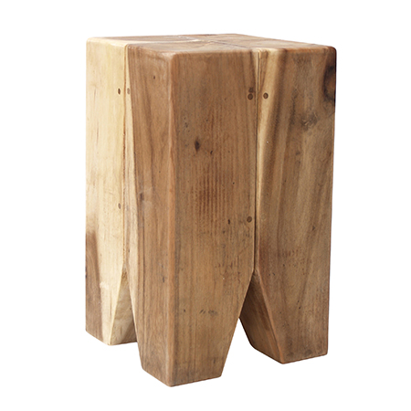 Wooden Tooth Stool Squarerooms
