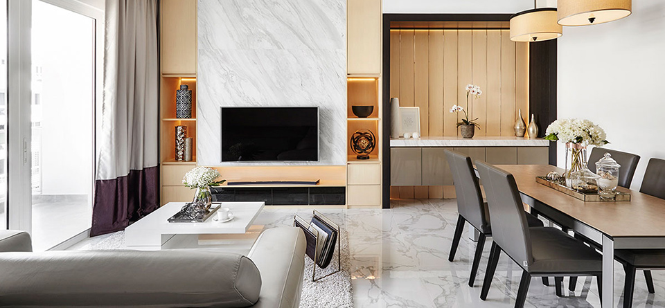 A Condo That Blends Minimalism With A Touch Of Luxury